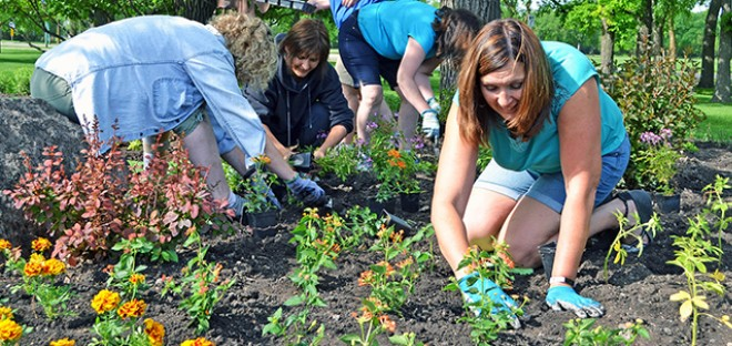 Planting the 20th Garden of Life